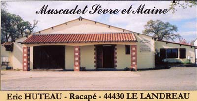 Eric Huteau Domaine de Racapé