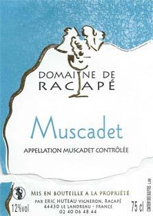 Muscadet de Racapé Eric Huteau