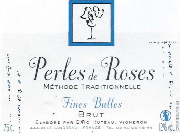 Perles roses de racapé Eric Huteau